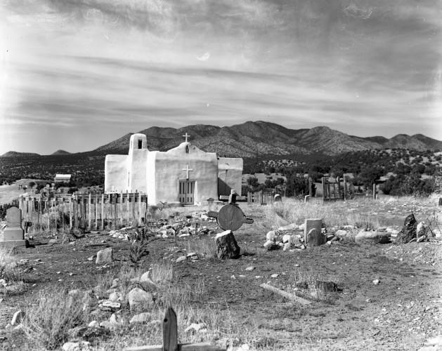 Old Adobe Church, San Pedro, New Mexico